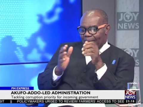 Akufo Addo Led Administration - PM Express on Joy News(19-12-16)