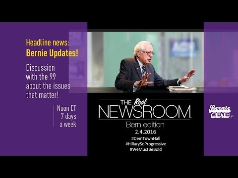The Real News Room - Bern Edition - 2.4.2016