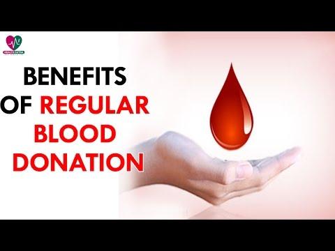 Benefits of Regular Blood Donation - Health Sutra