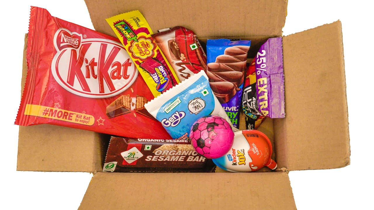 Box Of Candies unboxing   MOST satisfying mouth watering video