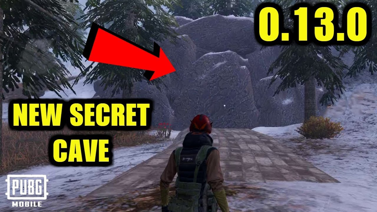 Pubg Mobile New Update 0 13 0 Vikendi Secret Cave Location Revealed Youtube