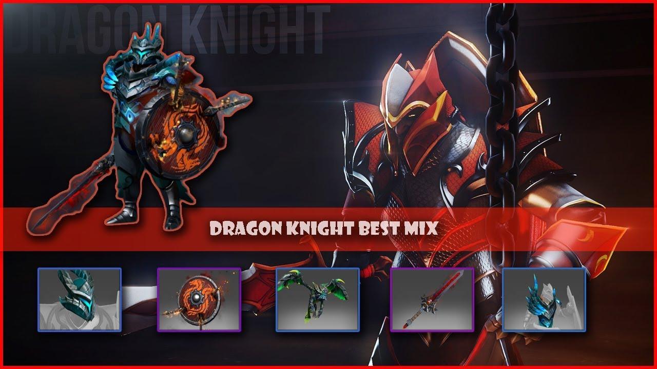 Dota  Dragon Knight Mix Set Bitterwing Legacy Outland Ravager