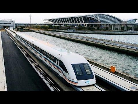 China prueba con pasajeros un tren de Levitación Magnética