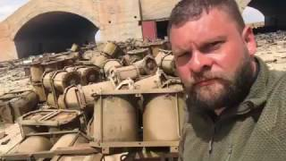 Евгений Поддубный с базы Шайрат про химическое оружие