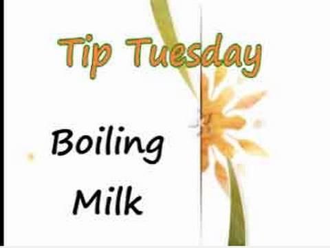 Boiling  Milk - Kitchen Tips
