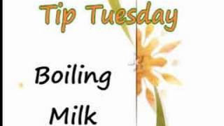 Boiling  Milk - Kitchen Tips