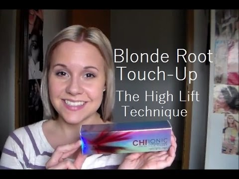 Blonde Root Touch Up♡high Lift Technique Youtube