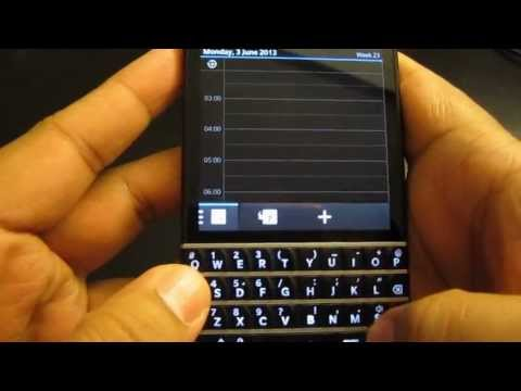 Blackberry Passport/Z10/Classic/Q10/Q5 Tricks/tips for Calender (Part 2)
