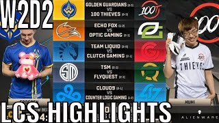 LCS Highlights ALL GAMES Week 2 Day 2 Spring 2019 League of Legends NALCS