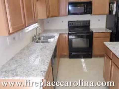 Giallo Napoli White Granite Countertops Installed 9 16 13 Youtube