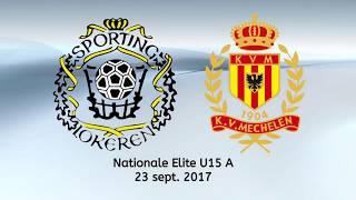 Nat  Elite U15   K SC  Lokeren   Yellow Red KV  Mechelen A