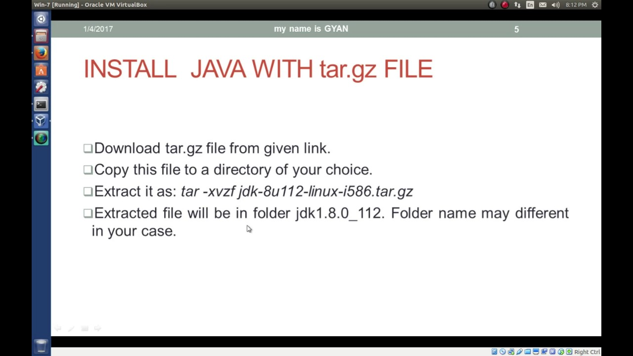 how to run tar.gz file in windows 10