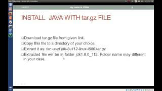 Download and Install Java 8 in Linux ( Ubuntu ) From Oracle WebSite (tar.gz file)