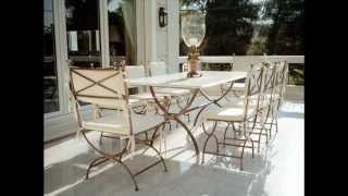Romantic Metal Garden Furniture - Simply Elegant And Very Aesthetically Appealing