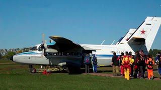 Фото В Кемеровской области произошло крушение самолета Л-410.