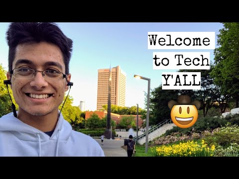 A Random Day In My Life At Georgia Tech || Spring 2019