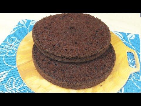 Шоколад на Кипятке - Шоколадный бисквит - Я - ТОРТодел!