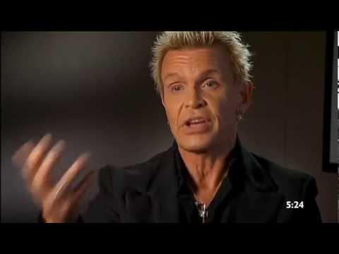 Billy Idol interview Sunrise Aussie TV 2015