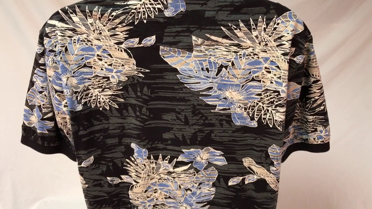 28164421 Izod Hawaiian Shirt - YouTube