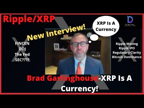 Ripple/XRP-Brad Garlinghouse Interview Julia Chatterly, Whoa,,XRP Is A Currency!