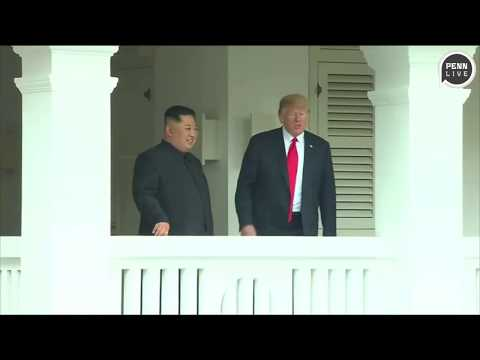 President Donald Trump made a fake movie trailer for Kim Jong Un, showing them as heroes