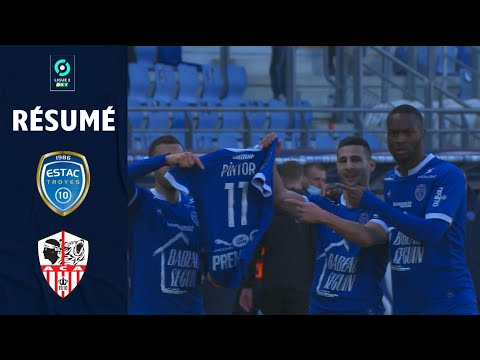 Troyes AC Ajaccio Goals And Highlights