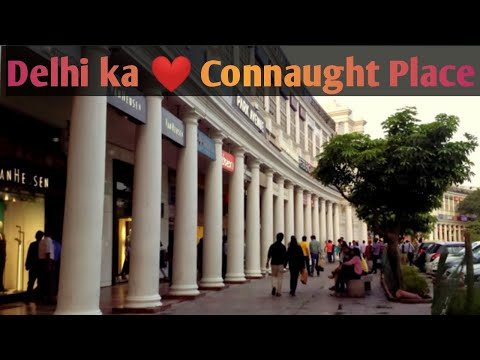 A Visit to Connaught Place CP Market Delhi with All information in just 5 minutes