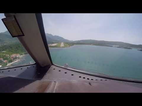 Boeing 767 landing Tivat