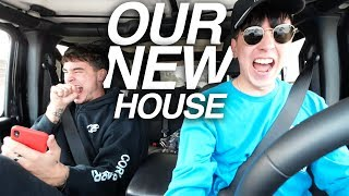 GOT THE KEYS TO NEW HOUSE!!