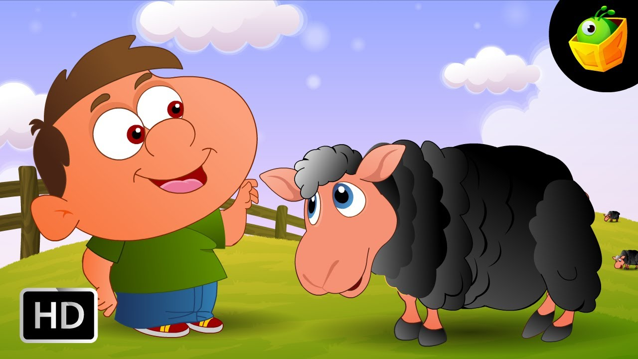 Baa Baa Black Sheep  English Kids Nursery Rhyme Sheep And Little Boy  Video Song For Children  YouTube