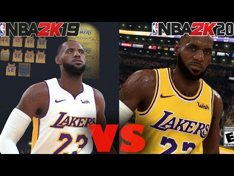 NBA 2K20 VS NBA2K19 Graphics Comparison and Gameplay | Which Is Better?