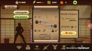 Shadow fight 2-weapons 1-52