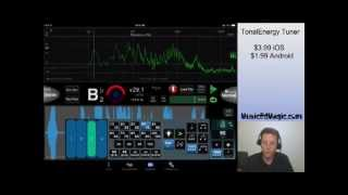 TonalEnergy Tuner App Review for iPhone, iPad, and Android