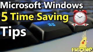 5 Ways to Save Time In Microsoft Windows - How to Stay Organized In Windows 10 💻 Proficiency Tips