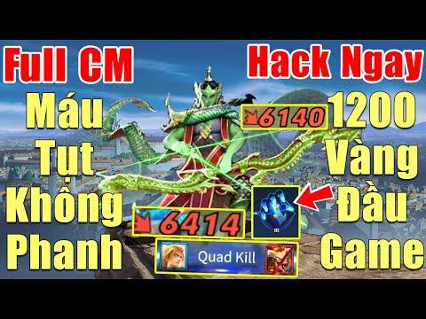 [Gcaothu] Yorn Full Đồ Chí Mạng sấy phát máu tụt không phanh - Tăng sức mạnh Hack 1200 vàng đầu game