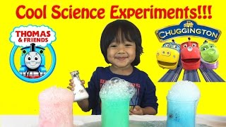 Science Experiment for Kids with elephant toothpaste and baking soda and vinegar thumbnail
