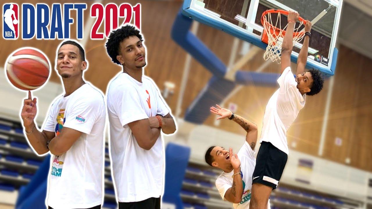 J'AFFRONTE MATTHIEU GAUZIN ! (NBA PROSPECT 2021)