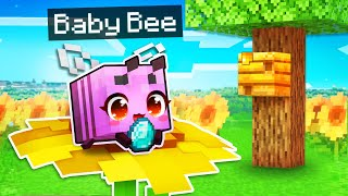 The PINK BABY BEE Prank In Minecraft!