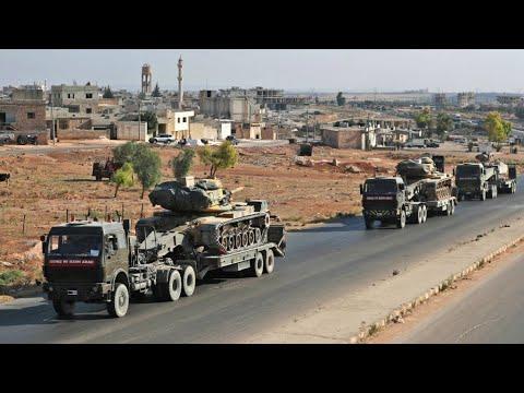 تعزيزات عسكرية تركية تصل إلى معرة النعمان غداة دخول قوات النظام إلى خان شيخون  - نشر قبل 53 دقيقة
