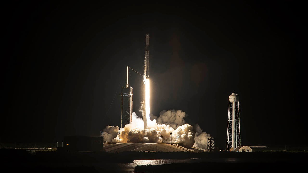 SpaceX Launches Astronaut Crew Like No Other on Orbital Adventure
