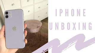 PURPLE IPHONE 11 UNBOXING | Chloe Ellis