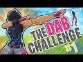 THE DAB CHALLENGE!! - FORTNITE BATTLE ROYALE!!