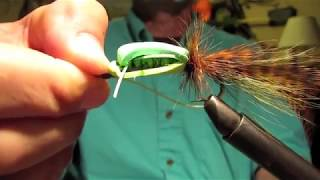 Froggy Fly Strikes Again and Again.. How to tie one on too!