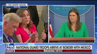 Sarah Sanders defends Trump's lies about rape and voter fraud