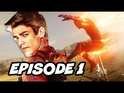 The Flash Season 4 Episode 1 - The Flash Returns Final Scene