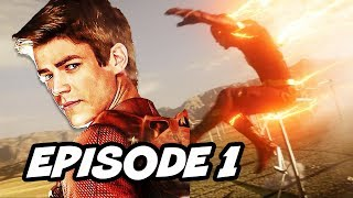 The Flash Season 4 Episode 1 - The Flash Returns Final Scene