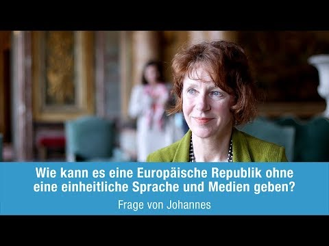 Ulrike Guérot beantwortet Johannes Frage