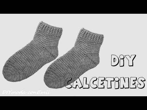 Como tejer medias para beb a dos agujas para principia - Como hacer calcetines de lana ...