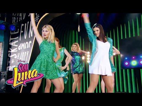 Ámbar e as meninas cantam Mírame a mí- Momento Musical (com letra) - Sou Luna