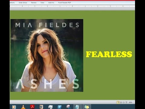 Mia Fieldes - Fearless (Lyrics)